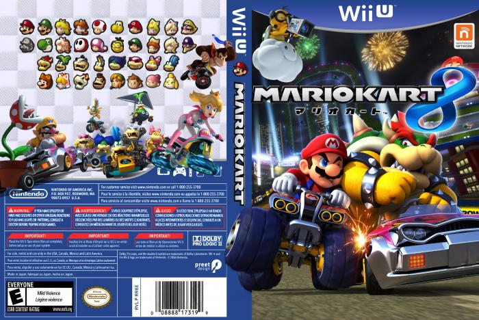 Mario Kart 8 Wii U Box Art Cover By Orange Yoda